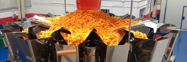 Líneas completas para patatas fritas
